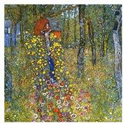 Klimt - Garden w/Crucifix