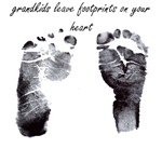 grandkids leave footprints on your heart