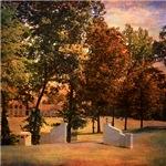 Autumn Gate Landscape