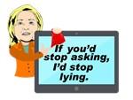 Hillary Lying