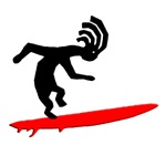 Kokopelli Surfer