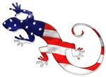 Gecko Patriotic
