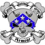 Armour Family Crest Skull