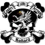 Ballard Family Crest Skull
