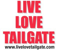 Live Love Tailgate Red