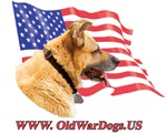 Patriotic War Dog