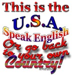 Speak English in the USA