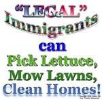 LEGAL IMMIGRANTS CAN