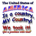 AMERICA MY COUNTRY