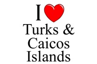 I Love Turks & Caicos Islands
