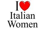 I Love (Heart) Italian Women