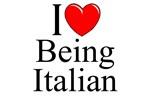 I Love (Heart) Being Italian