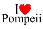 I Love (Heart) Pompeii, Italy