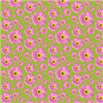 Pop Daisy Pink Pattern