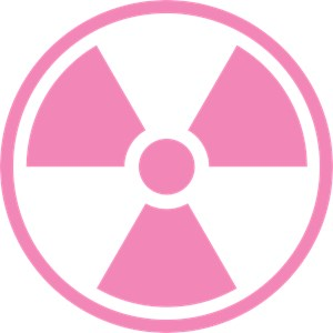 Pink Radiation Symbol