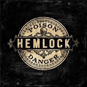Vintage Style Hemlock Poison Label
