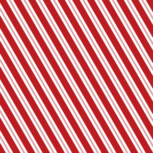 Red Candy Stripe Small