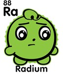 Cute Element Radium Ra