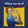 hillary can do it t-shirts