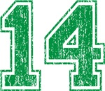Green Retro 13 T-shirts