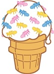 Ant Ice Cream T-shirts