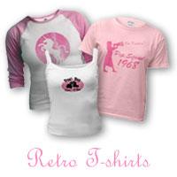 Pink Retro T-shirts