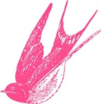 Pink Swallow T-shirts
