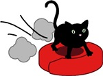 Kitten Riding Robot Vacuum T-shirts