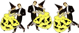 Vintage Halloween Dancing