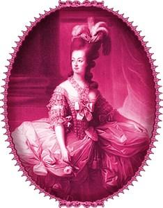 Marie Antoinette Pink Portrait