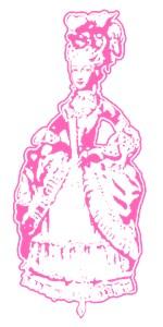 Dancing Marie Antoinette Pink