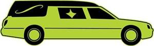 Green Hearse