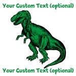 CUSTOM TEXT T-Rex