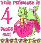 This Princess is 4 (Christina)