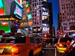 Times Square: Night