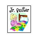 Future Quilter - Girl Sewing