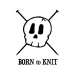 Born to Knit - Pirate Skull