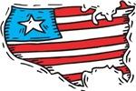 US Map Tee Shirts