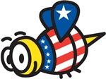 USA Bee T-Shirts
