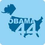 Retro Obama 44 T-Shirt