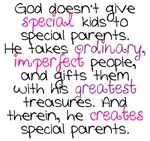 Special Parents Girl