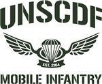 UNSCDF Mobile infantry (army green)