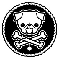 Puggly Pirate 1-cl