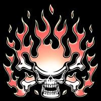 Chromeskull-Flames II
