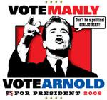 Vote MANLY. Vote ARNOLD.