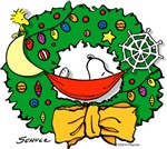 Snoopy Christmas Wreath