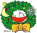 Snoopy Christmas Wreath