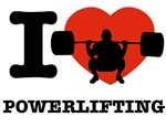 I love Power lifting