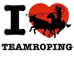 I love Team roping