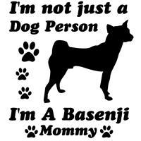 Basenji Mommy
